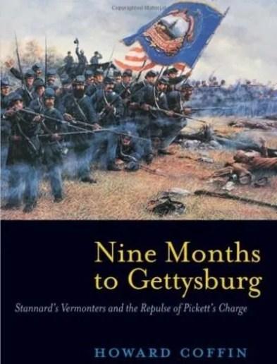 Nine-Months-Gettysburg-Howard-Coffin-Vermont-author