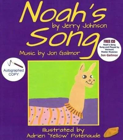 Noahs-Song-Jerry-Johnson-Vermont-author