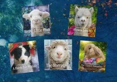 Sweet-Pea-Friends-series-John-Jennifer-Churchman-Vermont-authors