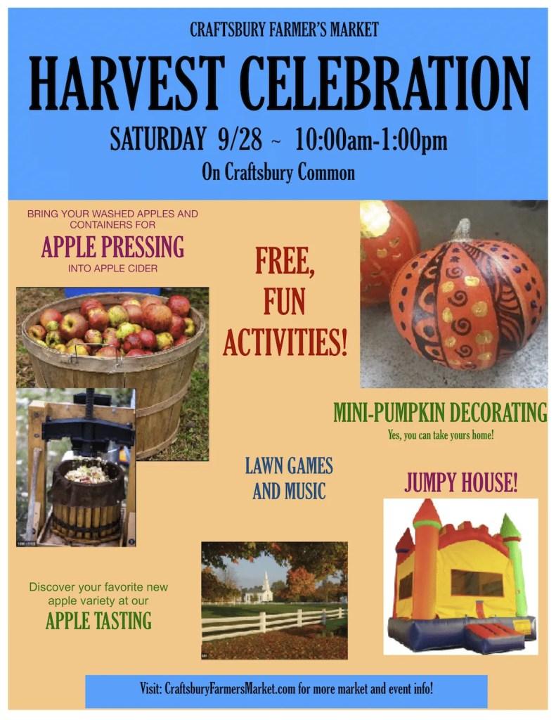 Craftsbury Harvest Celebration - 9.28.2019