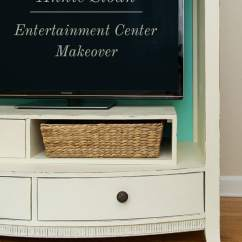 Pick Up Sofa Today Leather Refurbishment Entertainment Center Makeover: Using Annie Sloan Chalk Paint