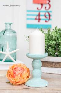 Dollar Tree Candle Holder Makeover