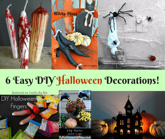 6 Cheap Halloween Decoration Ideas Easy And Spooky Diy Crafts