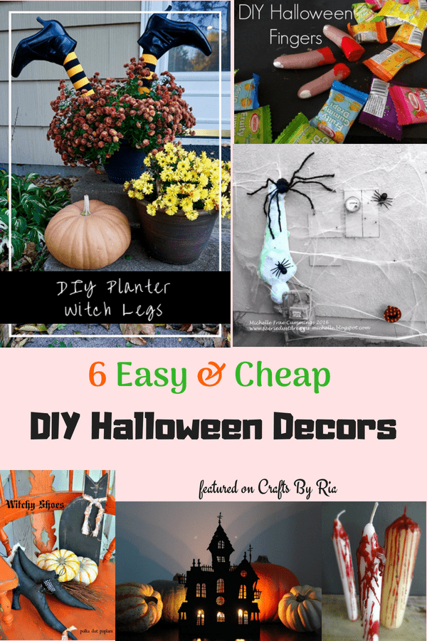 cheap Halloween decoration ideas