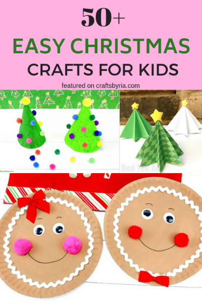 50+ easy christmas crafts for kids-thumbnail