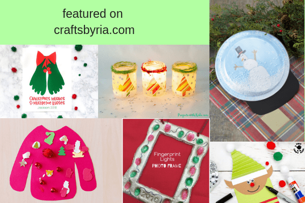 easy christmas crafts for kids--other