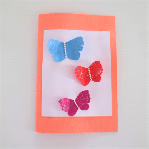 mothers day cards for kids-butterfly card