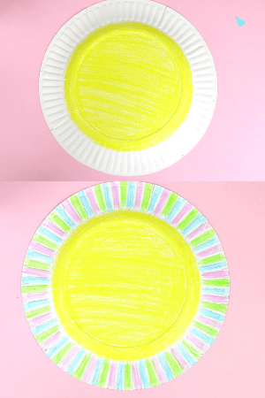 Fathers day craft for kindergarten-step1