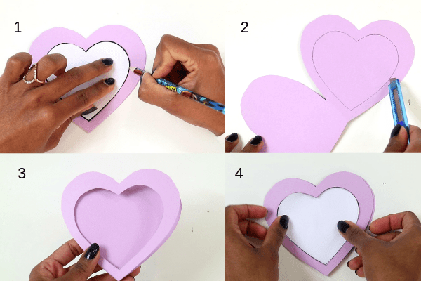 I love you to pieces craft-step3