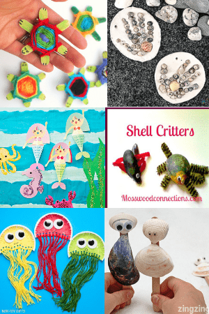 50 Easy Summer Crafts For Kids Of All Ages Crafts By Ria
