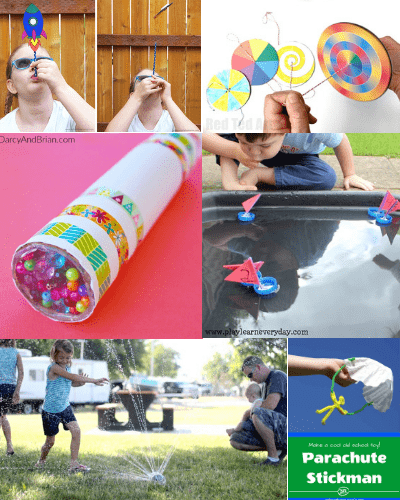 toys-easy summer crafts for kids