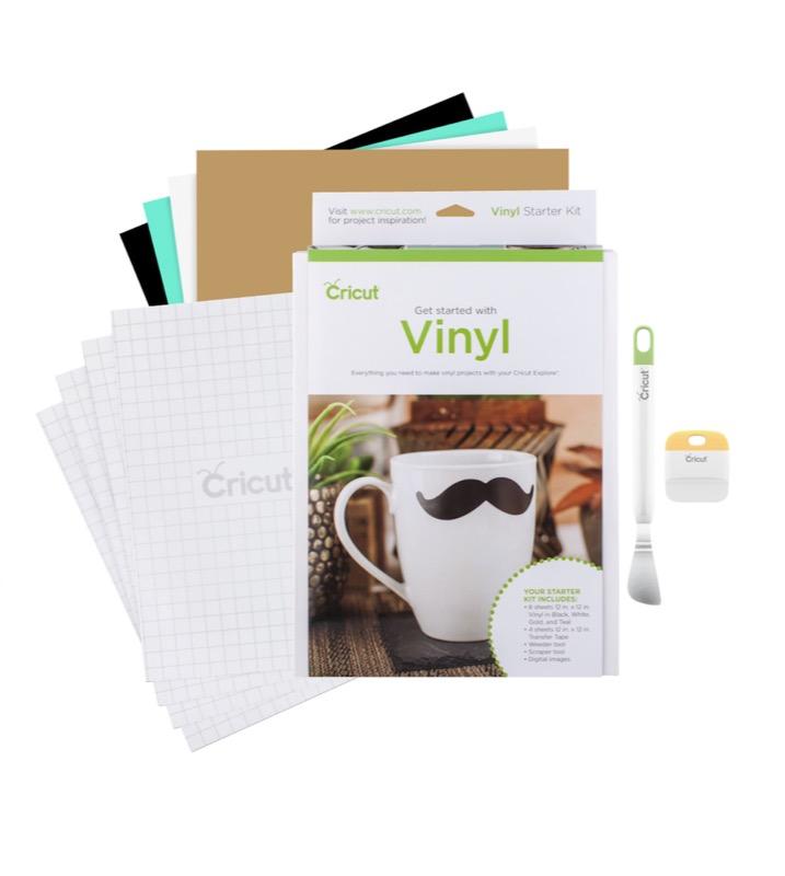 Cricut Starter Kits – Iron-on & Vinyl plus our Design Space Templates