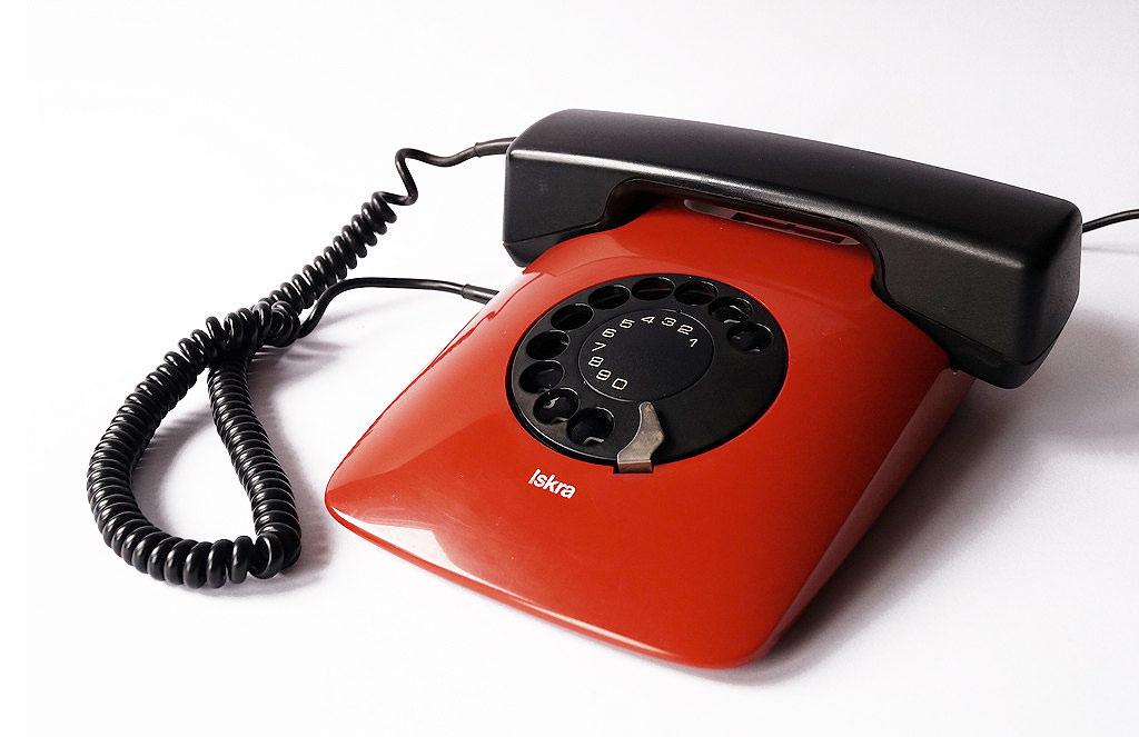 イスクラ 電話機 ETA80