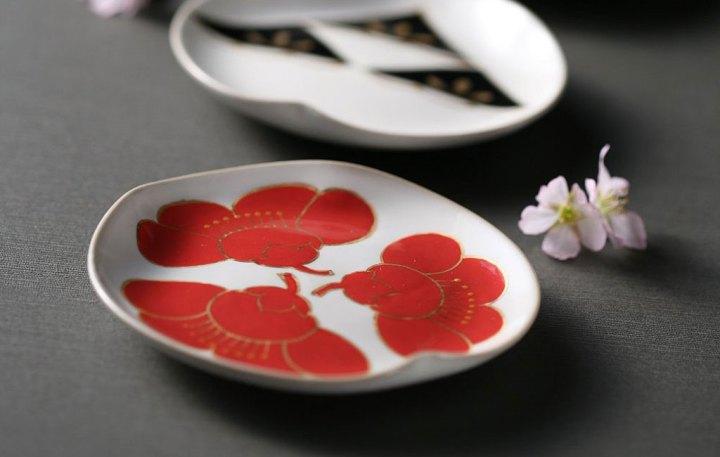 京焼・清水焼 陶あん窯 豆皿5種セット 京友禅