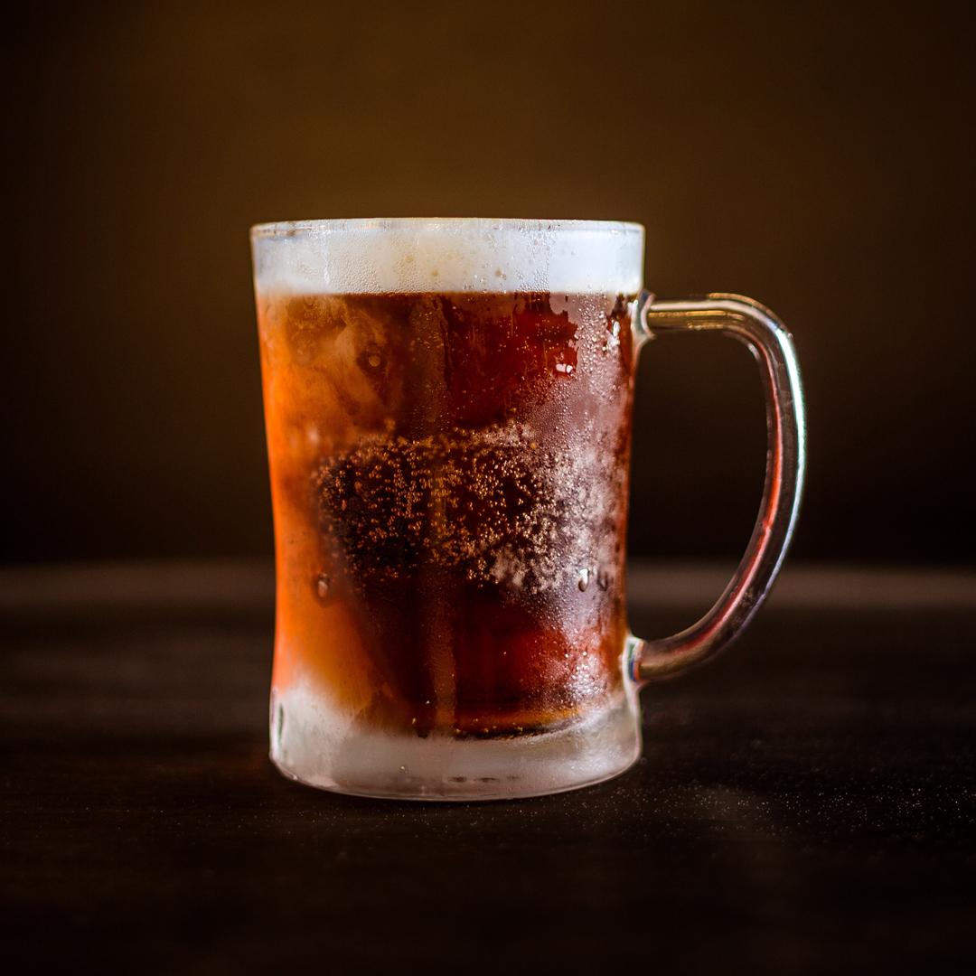 a mug full of ale