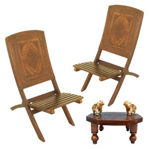 wooden chairs with arms india white chair dining table indian furniture embossed set a chowki