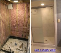 Raleigh NC Shower Remodeling | Bath Tub to Shower ...