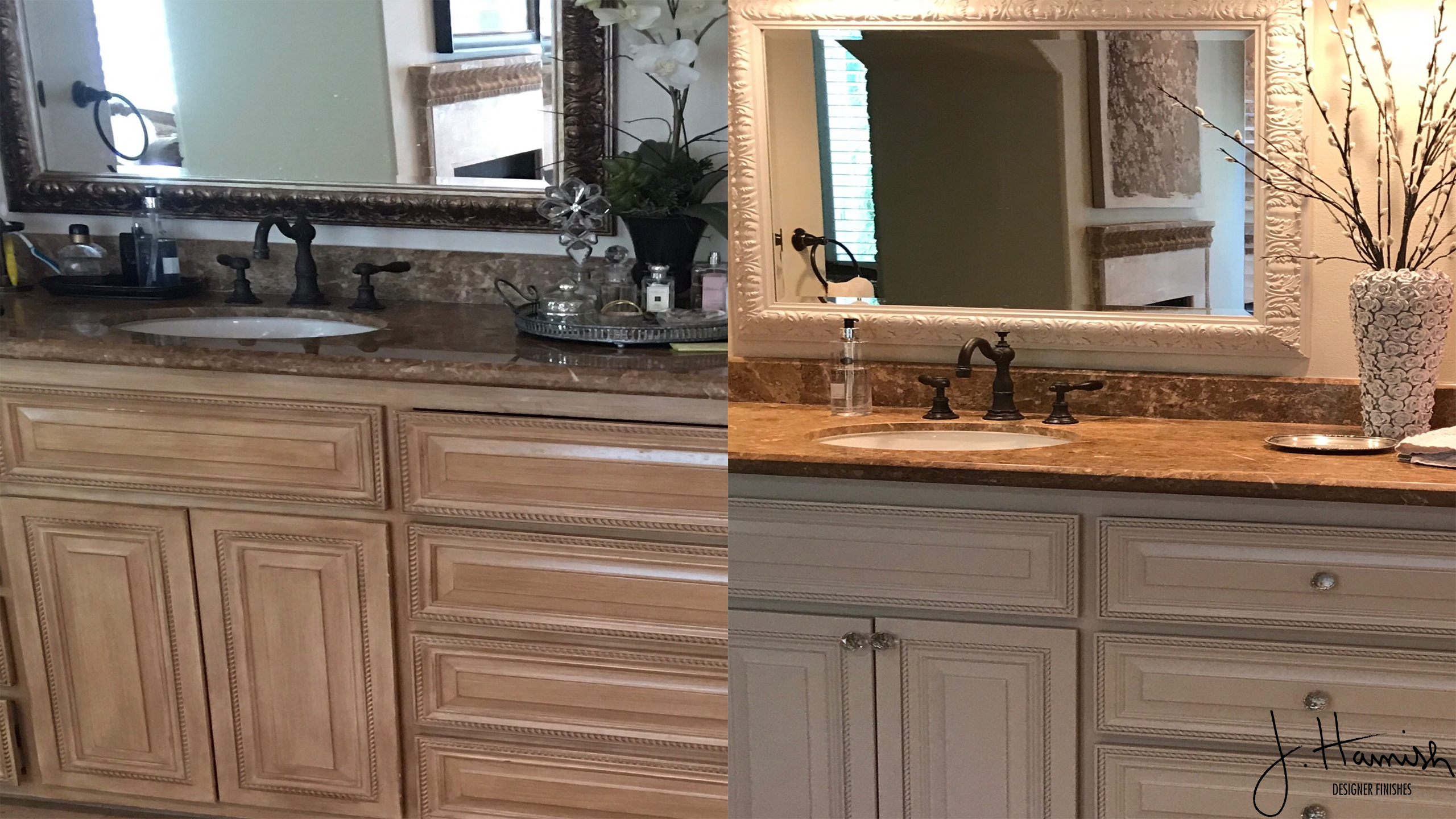 glazed kitchen cabinets undermount double sink craftsman finishes dixie belle paint blog - ...
