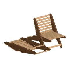 Brown Wooden Folding Chairs Chippendale Style Chair Plan Garden