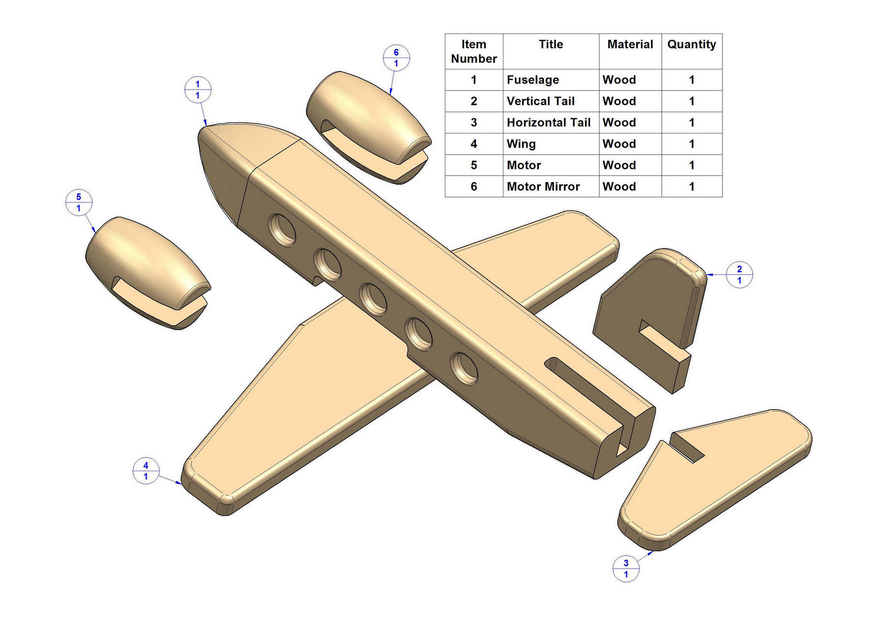 Build DIY Wooden toy airplane plans free PDF Plans Wooden Table Plans Free Woodworking ...