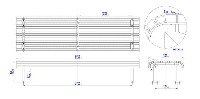 Home » Woodworking Plans » Free Wood Park Bench Plans