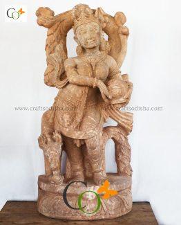 p01261-dsc-0031-sandstone-apsara-standing-statue-holding-matka-30-in