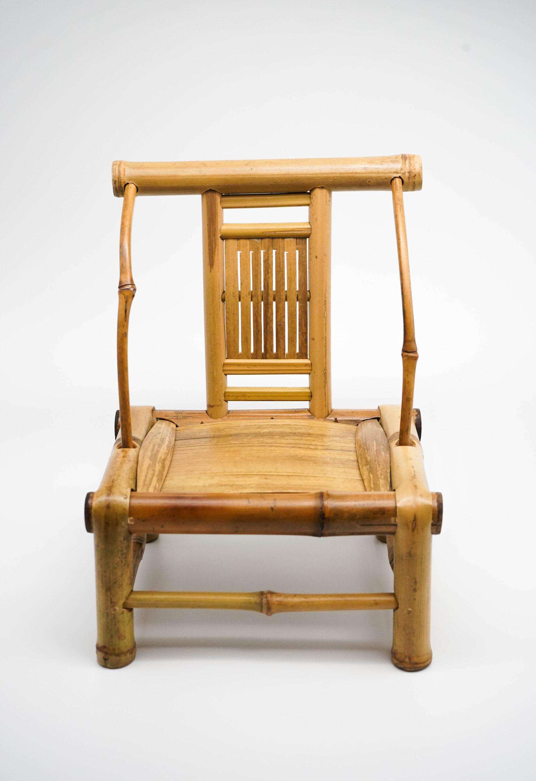 袖珍竹椅 - CRAFTS ON PEEL