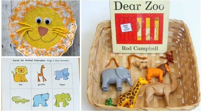40 Dear Zoo Activities And Crafts Crafts On Sea