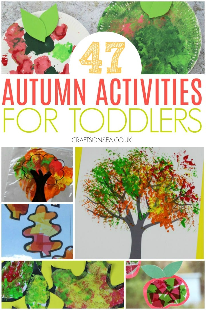 Autumn Activities For Toddlers 47 Easy And Fun Ideas Crafts On Sea