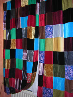 Patchwork Curtains  HOME SWEET HOME