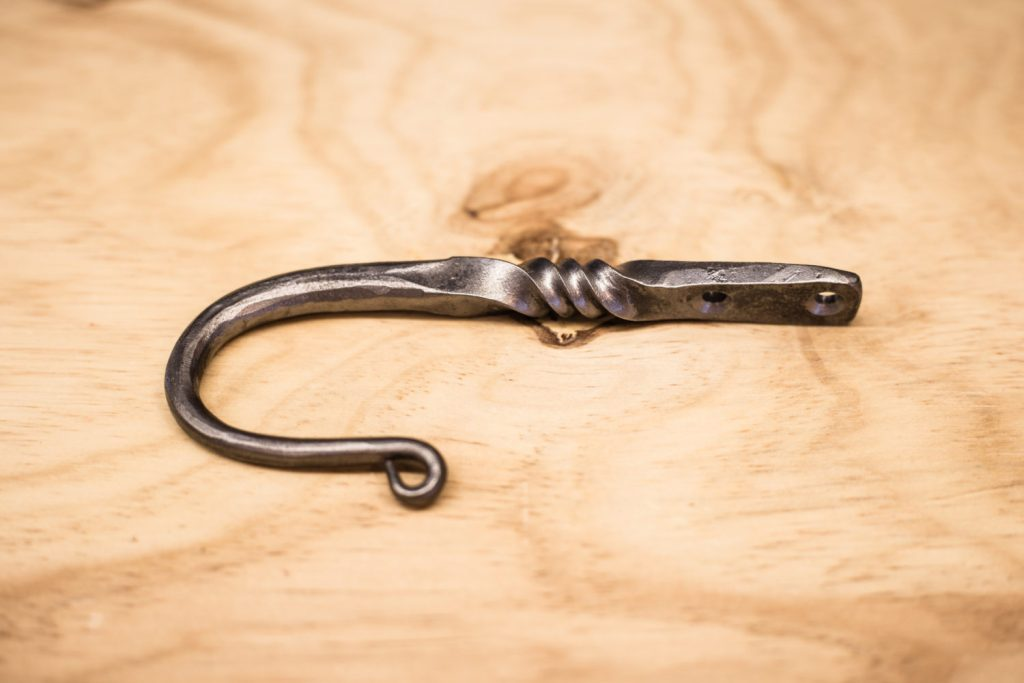 Beginning Blacksmithing 2: Create a Wall Mount J-Hook with ...