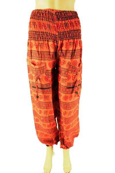 Cotton Om Yoga Pant