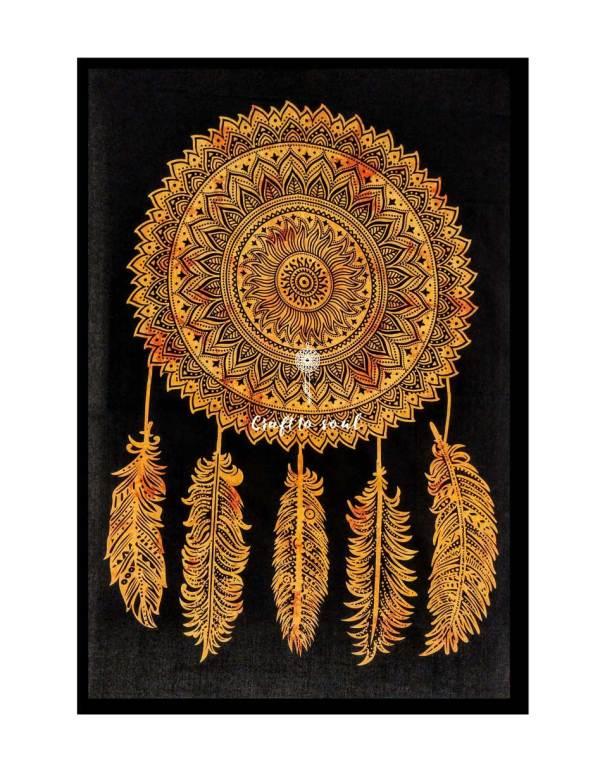Dream Catcher Mandala Tapestry