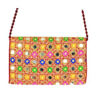 Gypsy Mirror Clutch Bag