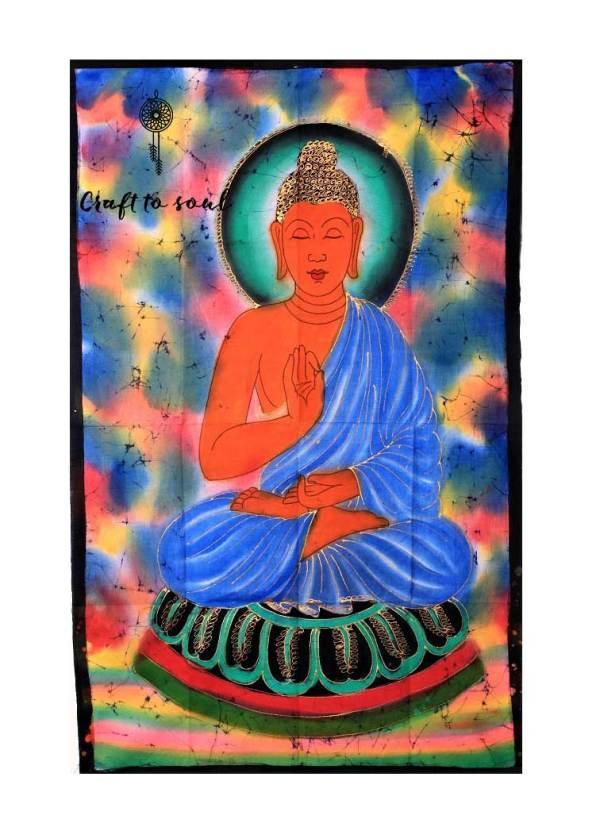 Meditative Buddha Tapestry