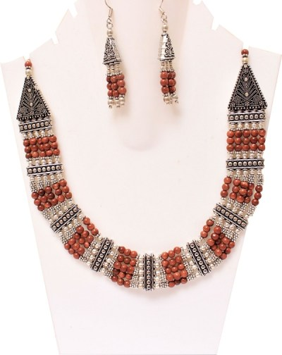 Sunstone Beads Vintage Necklace