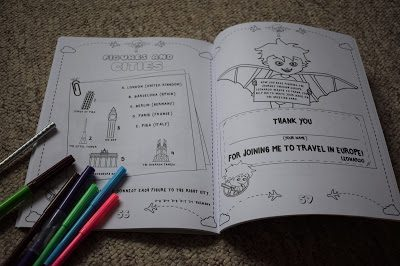 FlyingKids Activity book review