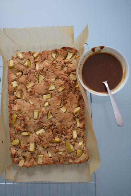 Gluten Free Coconut and Apple Traybake Recipe