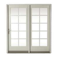 800 Center Hinged Patio Door | Craftwood Products for ...