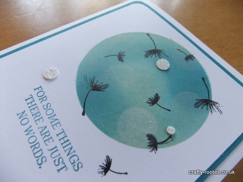 crafty-rootes.co.uk - Stampin Up Balloon Celebration bokeh style