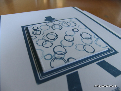 crafty-rootes.co.uk - Stampin Up Painter's Palette in Dapper Denim
