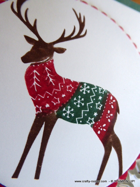 Deer in a jumper