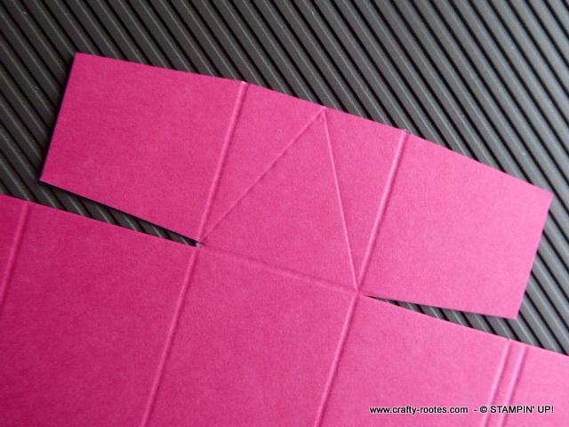 Making a Triangular treat box