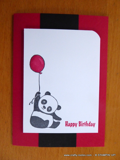 Happy birthday Party Panda's