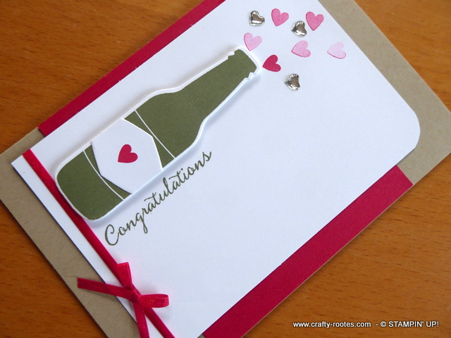 Romantic congratulations card