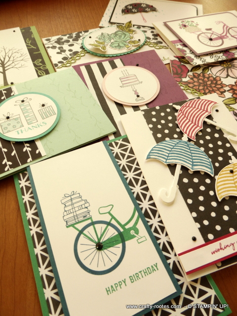 Gorgeous cards using Petal Passion dsp