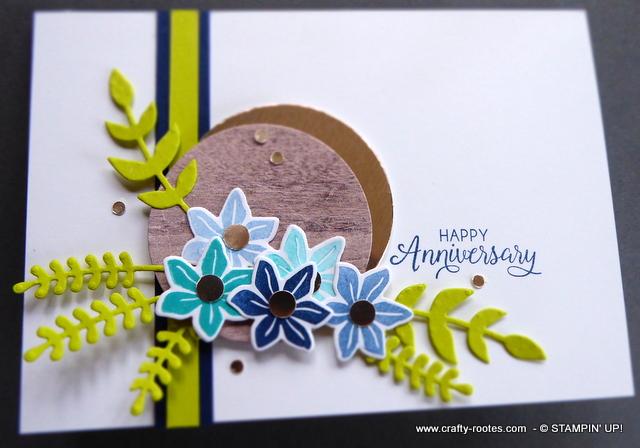 Gorgeous anniversay card
