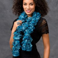 Crochet Patterns With Sashay Yarn ~ Dancox for