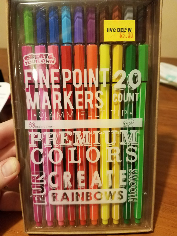 Finepoint Marker Review
