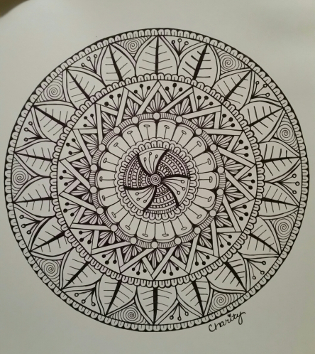 Mandala - Step by Step